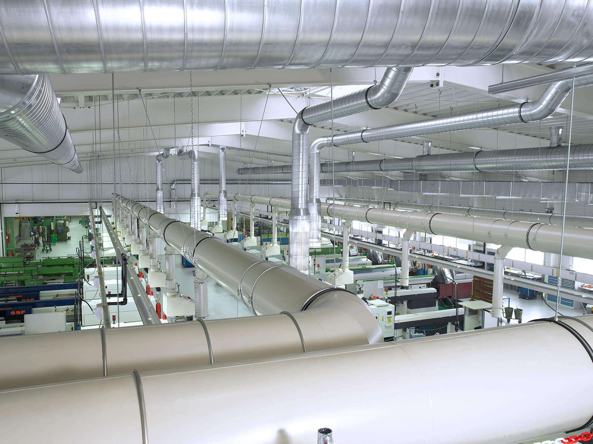 Industrielüftung und Prozesslufttechnik von LKU Kessler
