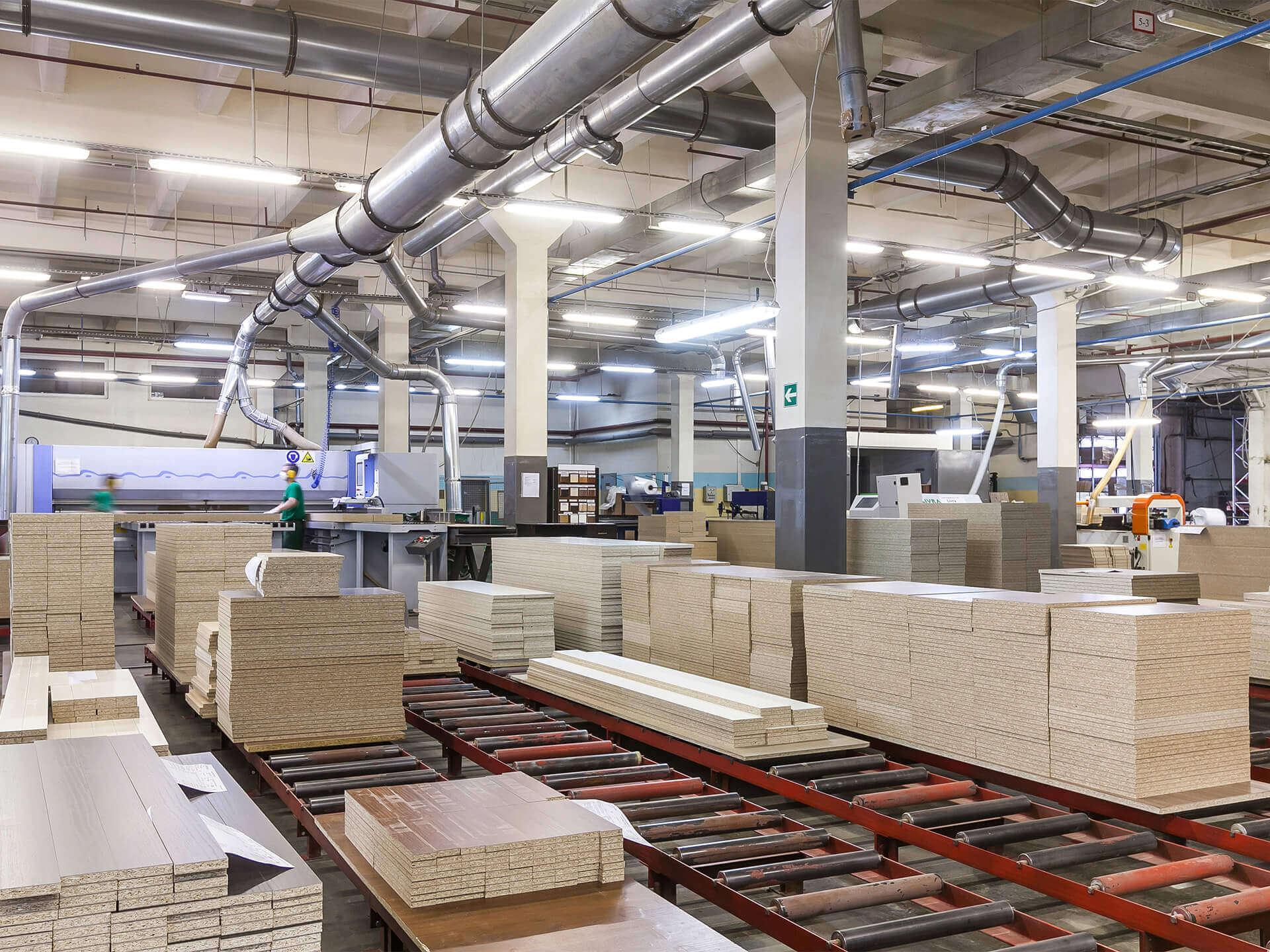 Staubfilter für die Holzverarbeitung