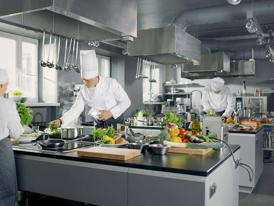 Vorbeugung von Küchenabluft und Wrasen