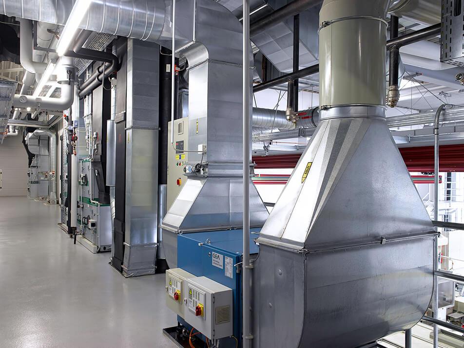 Elektrostatische Filter für jede Art von Prozessluft