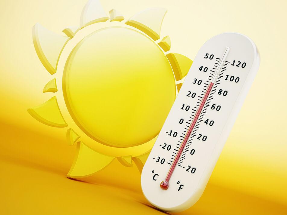 Fort- und Umluftfiltersysteme für hohe Temperaturen und Hitze